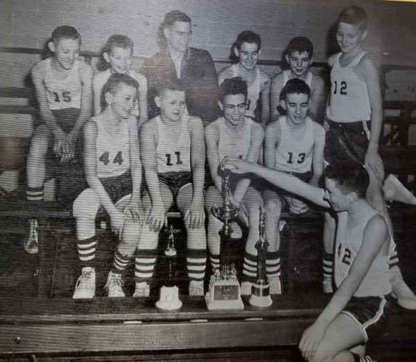 1955 IESA B  Boys Basketball Champions