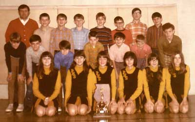 1971 IESA B  Boys Basketball Champions
