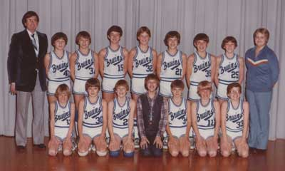 1980 IESA B  Boys Basketball Champions