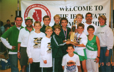 2002 IESA Class A  Boys Cross-Country Champions