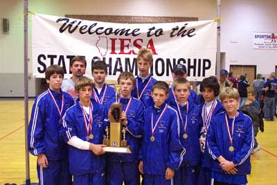2004 IESA Class A  Boys Cross-Country Champions