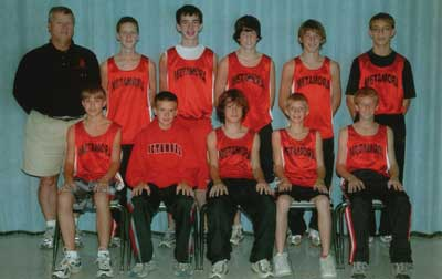 2005 IESA Class A  Boys Cross-Country Champions
