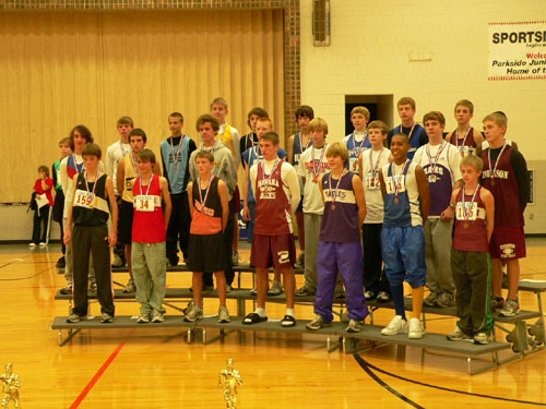 2007 IESA Class A  Boys Cross-Country Champions