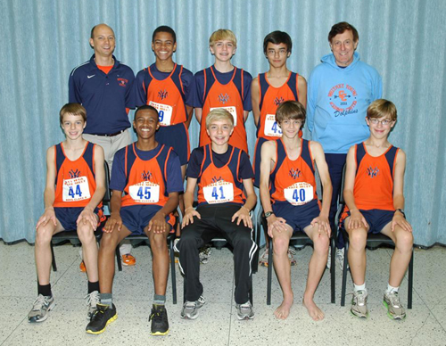 2011 IESA Class A  Boys Cross-Country Champions