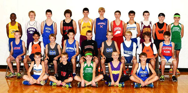 2013 IESA 2A  Boys Cross-Country Champions