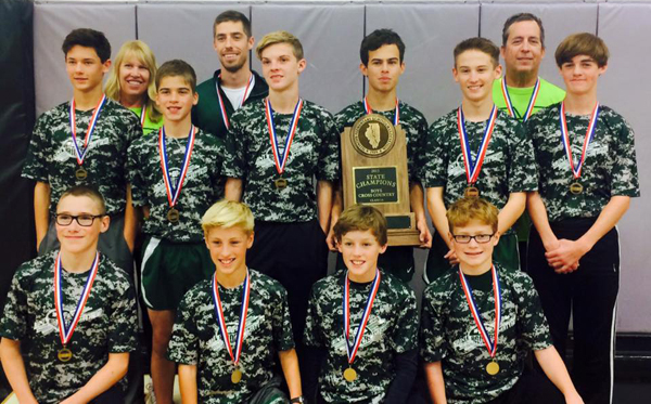 2015 IESA 1A  Boys Cross-Country Champions