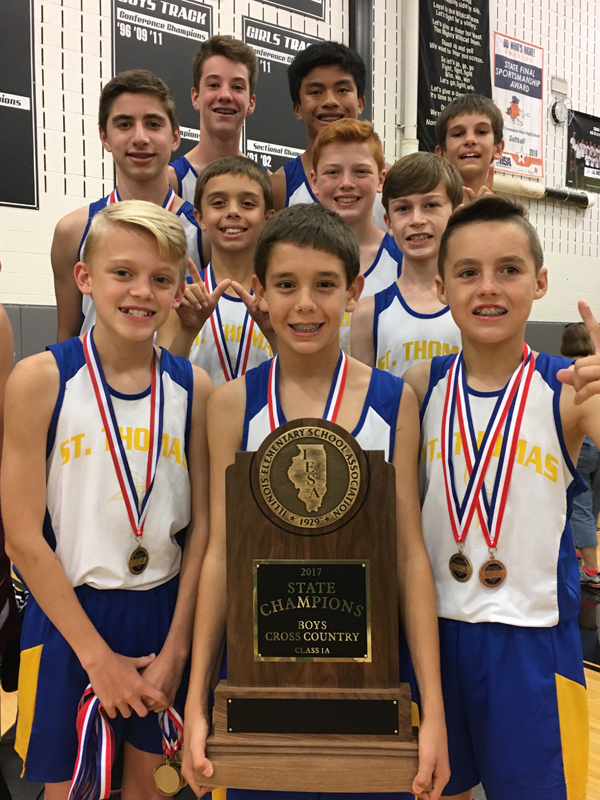 2017 IESA 1A  Boys Cross-Country Champions