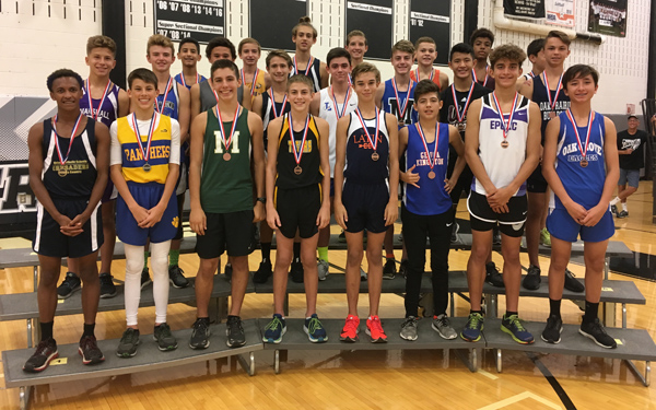 2017 IESA 2A  Boys Cross-Country Champions