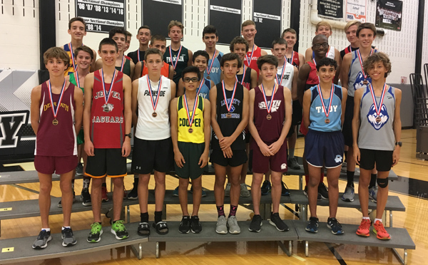 2017 IESA 3A  Boys Cross-Country Champions