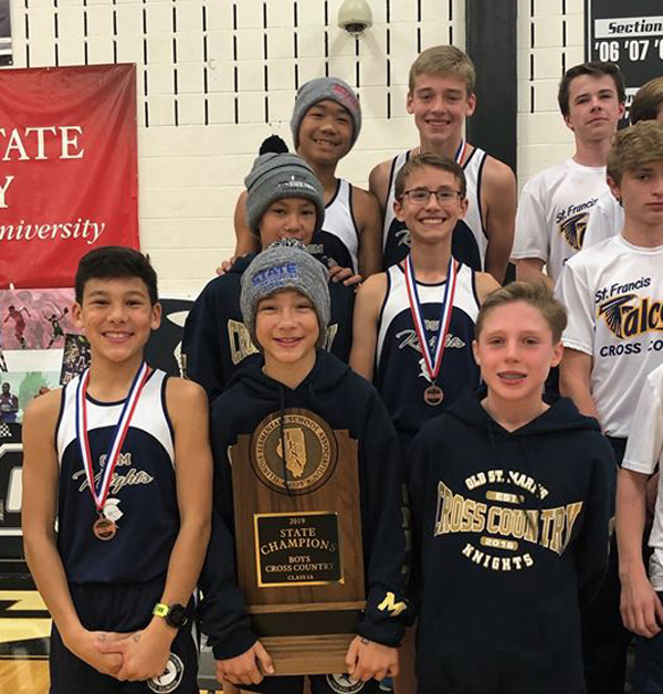2019 IESA 1A  Boys Cross-Country Champions