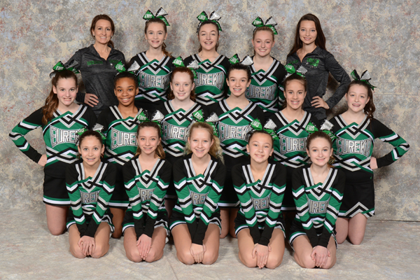 2017 IESA Small Team Routine Cheerleading Champions