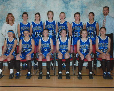 2006 IESA 8-3A  Girls Basketball Champions