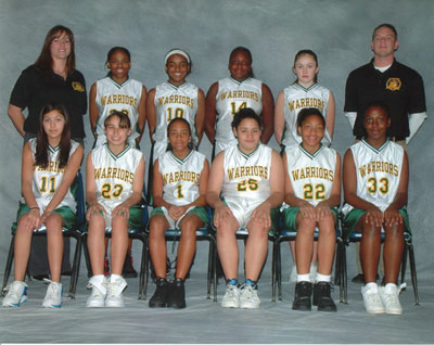 2006 IESA 8-4A  Girls Basketball Champions