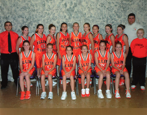 2007 IESA 7-2A  Girls Basketball Champions