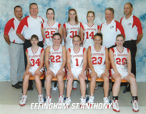 2009 IESA 8-1A  Girls Basketball Champions