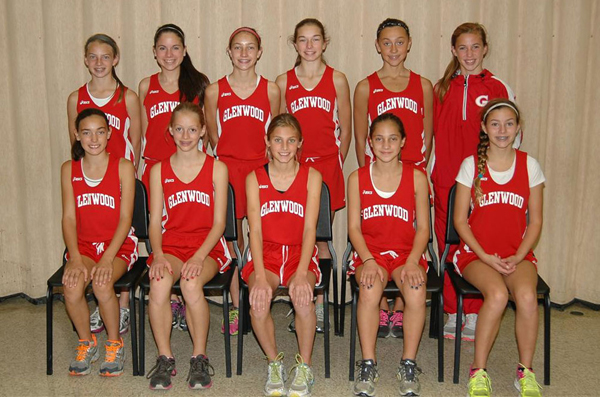 2012 IESA 3A  Girls Cross-Country Champions
