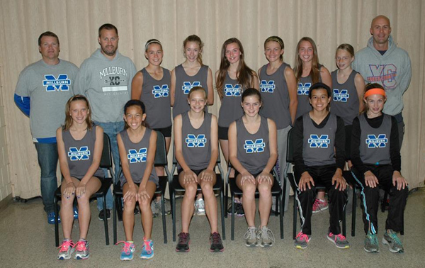 2013 IESA 2A  Girls Cross-Country Champions