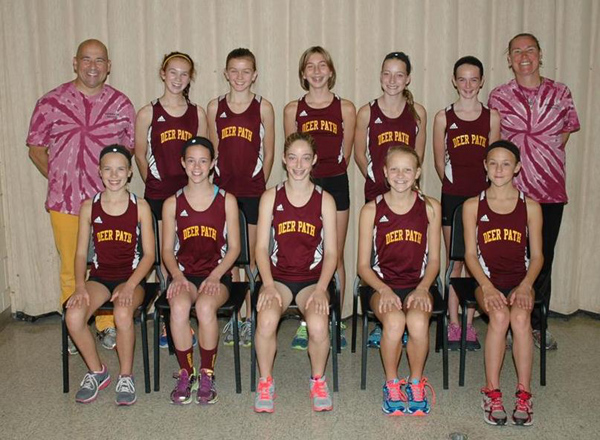 2013 IESA 3A  Girls Cross-Country Champions