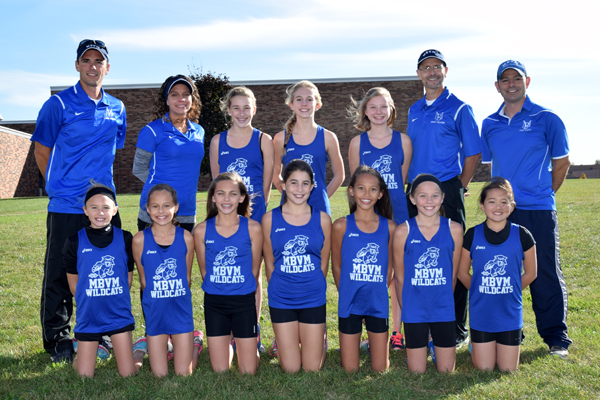 2015 IESA 1A  Girls Cross-Country Champions