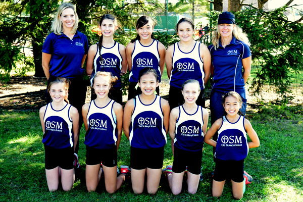 2016 IESA 1A  Girls Cross-Country Champions