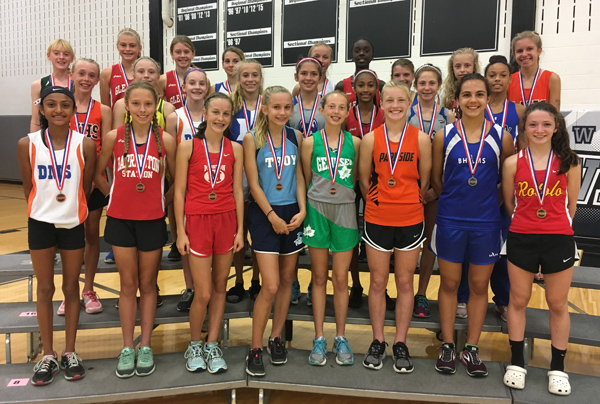 2017 IESA 3A  Girls Cross-Country Champions