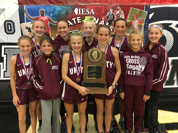 2018 IESA 2A  Girls Cross-Country Champions