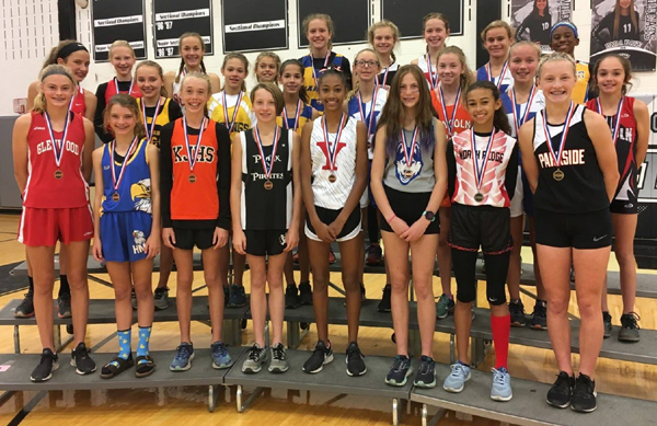 2018 IESA 3A  Girls Cross-Country Champions