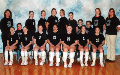 2007 IESA 8-1A  Girls Volleyball Champions