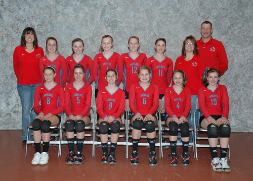 2011 IESA 7-2A  Girls Volleyball Champions