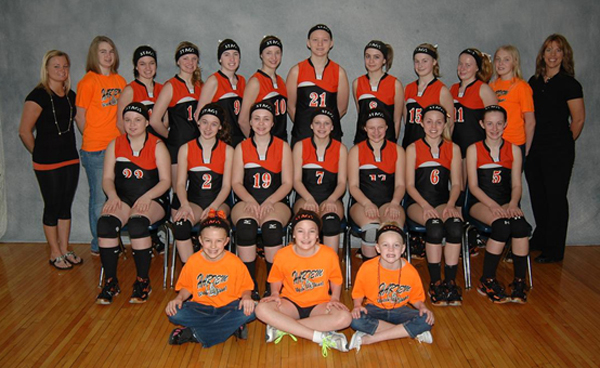 2012 IESA 8-1A  Girls Volleyball Champions