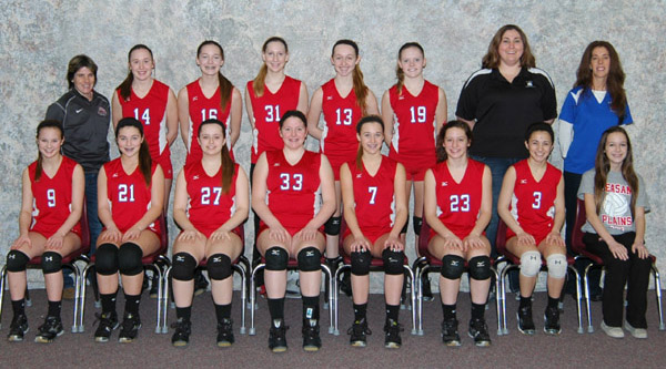 2013 IESA 8-3A  Girls Volleyball Champions