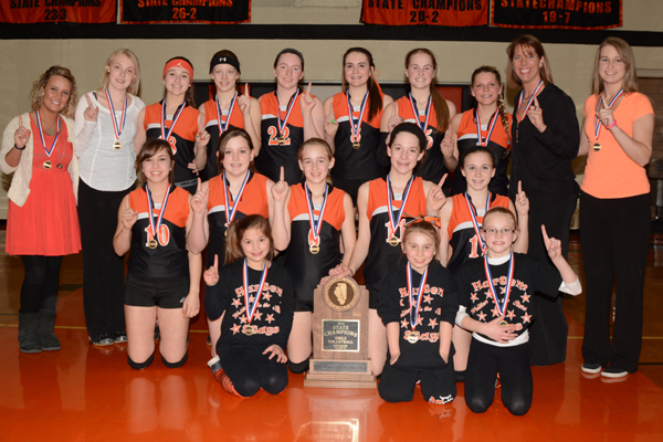 2014 IESA 8-1A  Girls Volleyball Champions